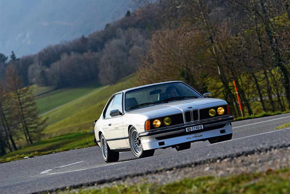 1982 BMW Alpina B7 Turbo Coupé E24