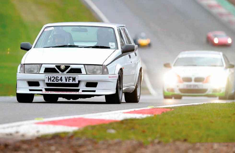 1990 Alfa Romeo 75 V6 track test