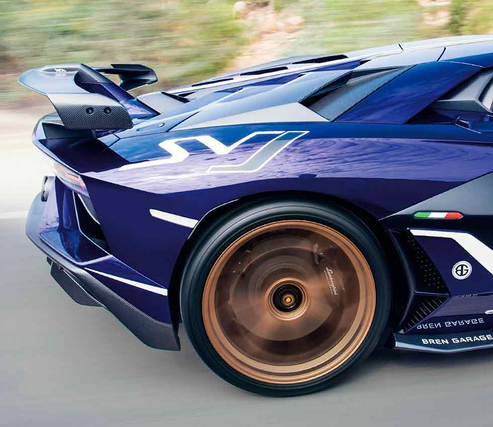 2020 Lamborghini Aventador SVJ - driven in India
