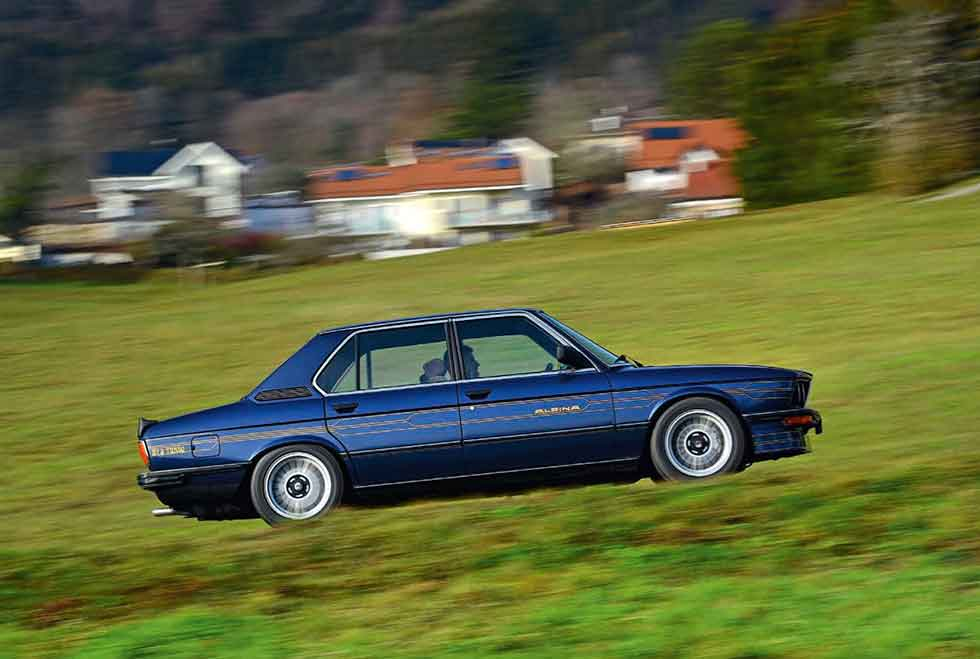 1982 BMW Alpina B7 S Turbo E12