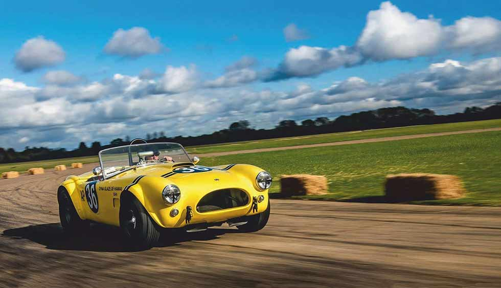 "1963 AC Cobra ""The Hairy Canary"""