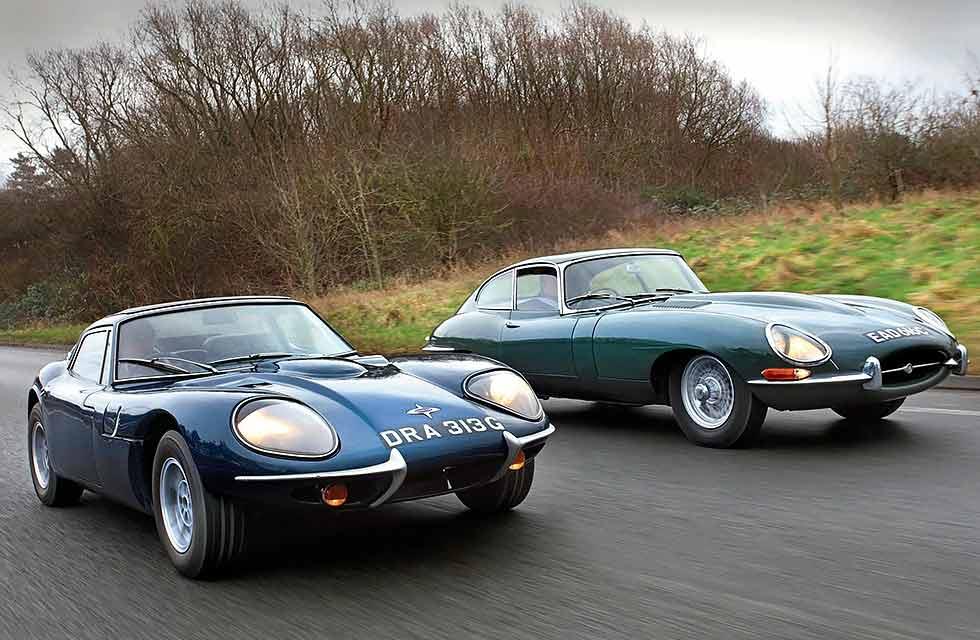 Jaguar E-type VS. Marcos GT 3-Litre