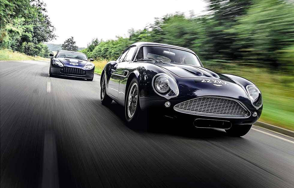 Aston Martin Zagato driven from DB4 GT to V12 Vantage
