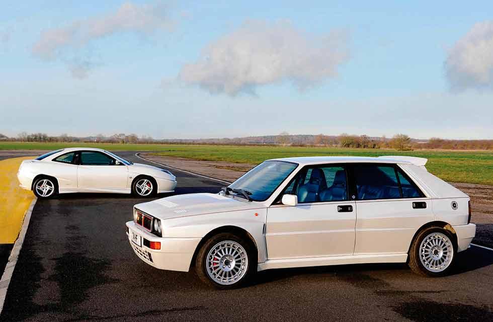 Fiat Coupe 20v Turbo LE vs. Lancia Delta Integrale Evo