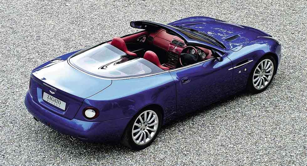 Aston Martin Vanquish Roadster