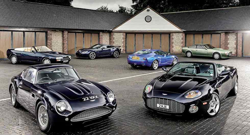 Every Aston Martin Zagato driven from DB4 GT to V12 Vantage