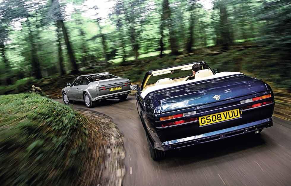 Aston Martin V8 Zagato Volante vs. Aston Martin V8 Vantage Zagato