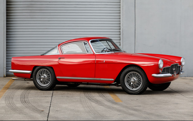 Crazy like a fox 1954 Aston Martin DB2/4 Coupe Coachwork by Bertone