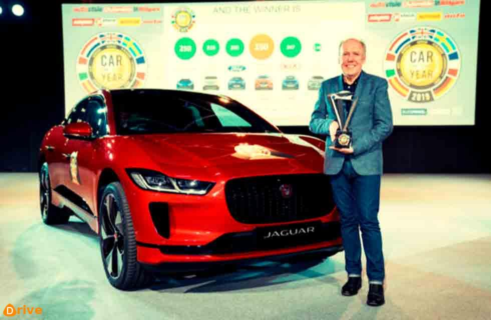 Jaguar I-Pace is Europe's Car of the Year