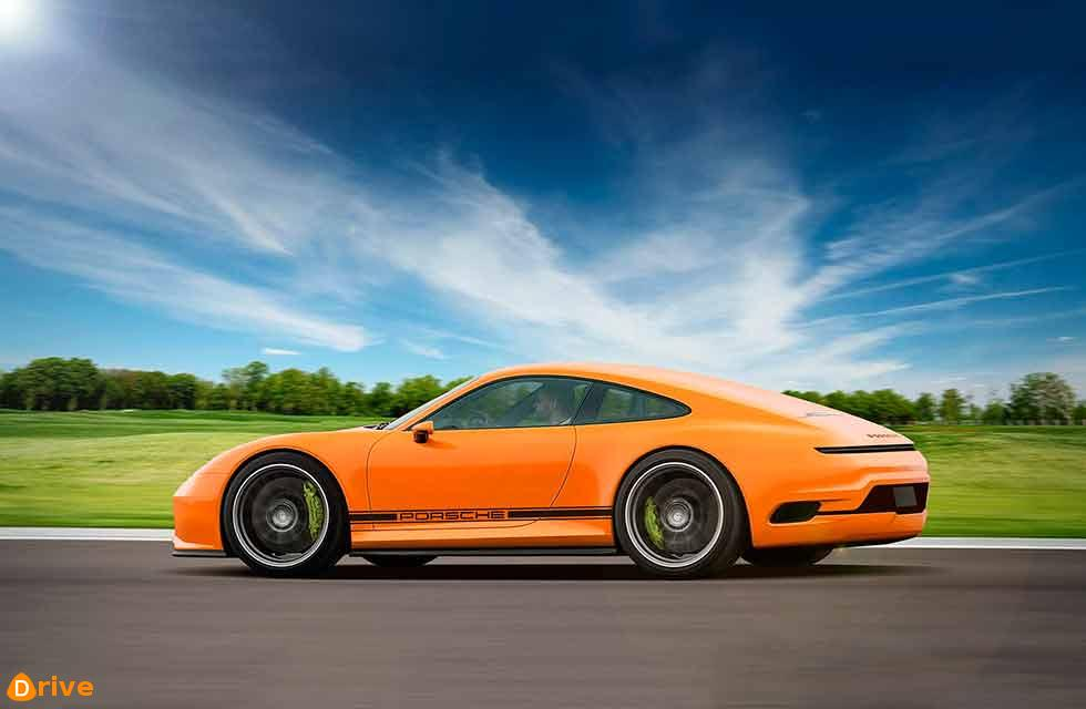 Why wait for an electric Porsche 911 992