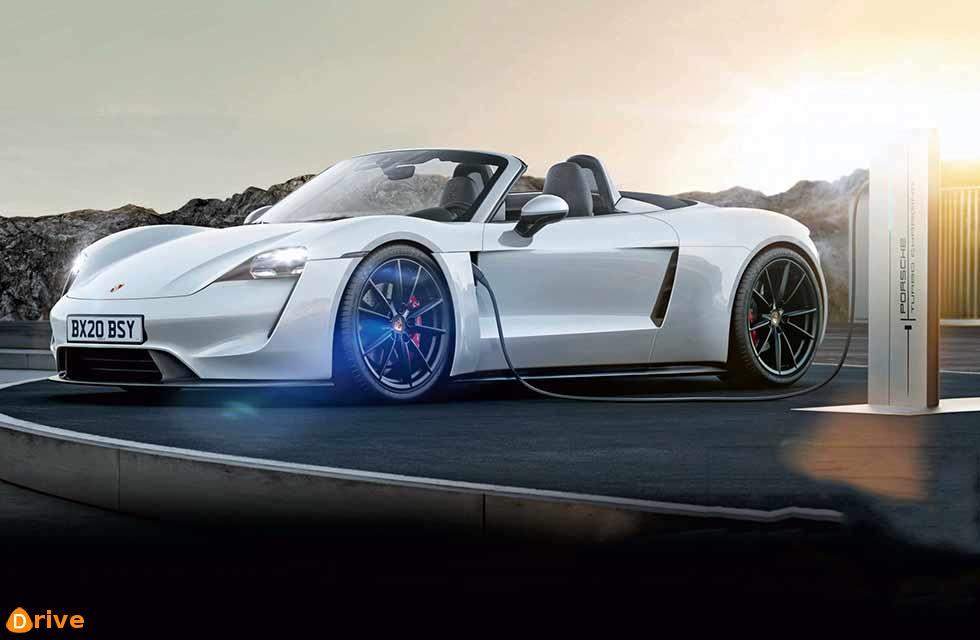 New 2020 Porsche 718 Boxster EV