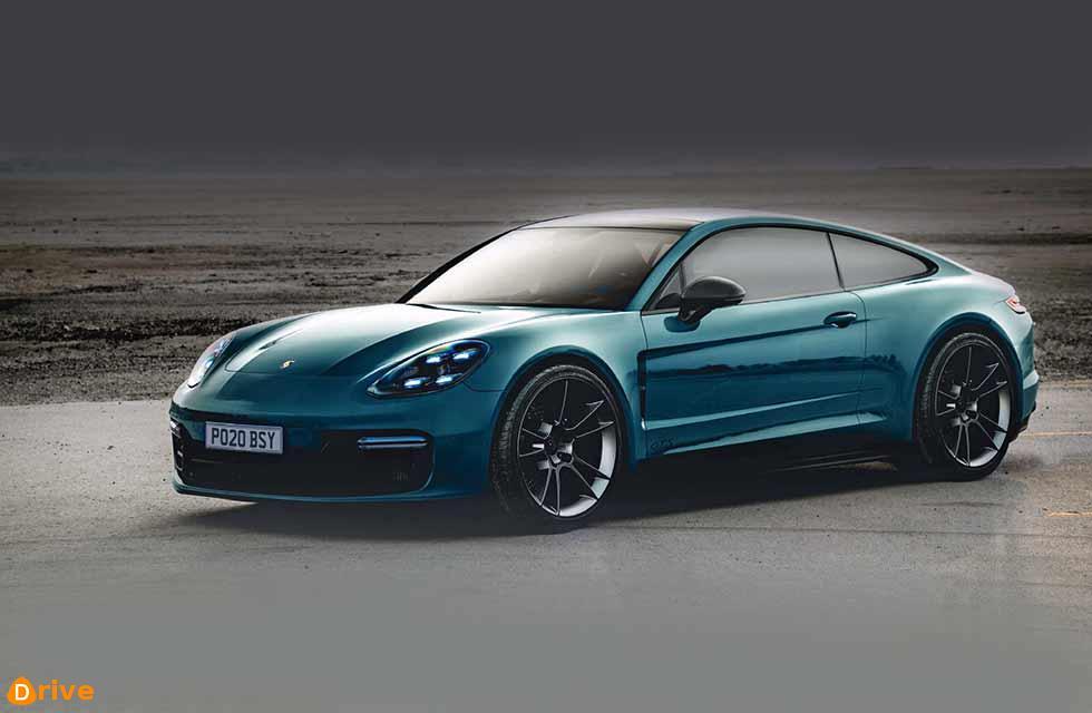 Two-door 2020 Porsche Panamera