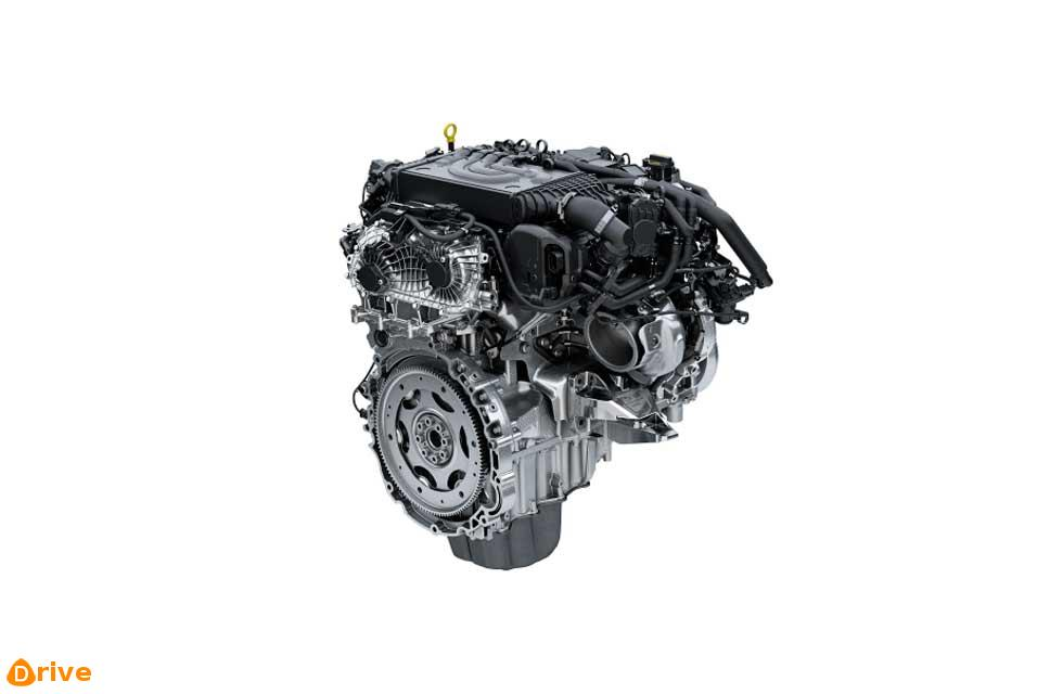 new petrol engine, part of JLR's Ingenium family