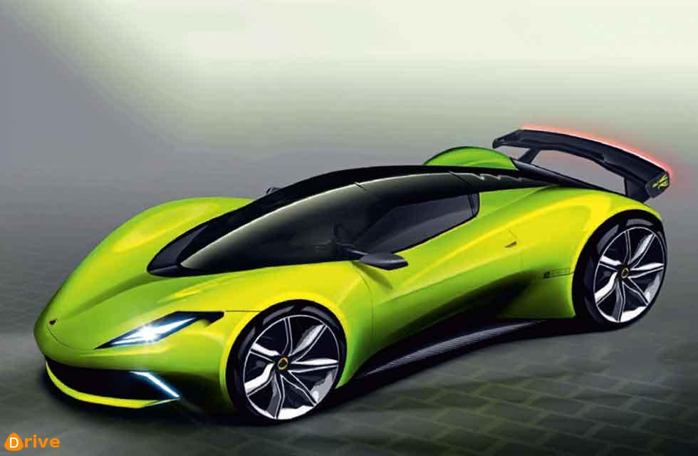 Lotus EV hypercar