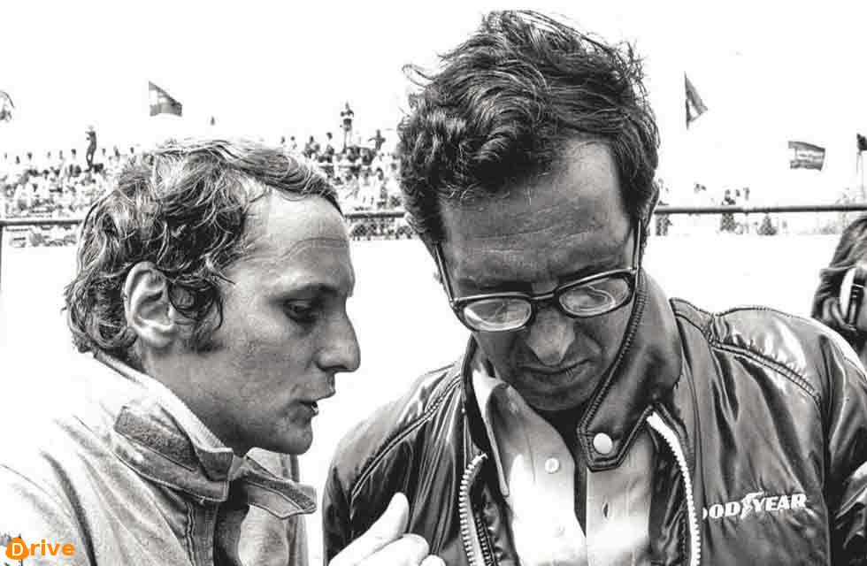 Mauro Forghieri and Niki Lauda