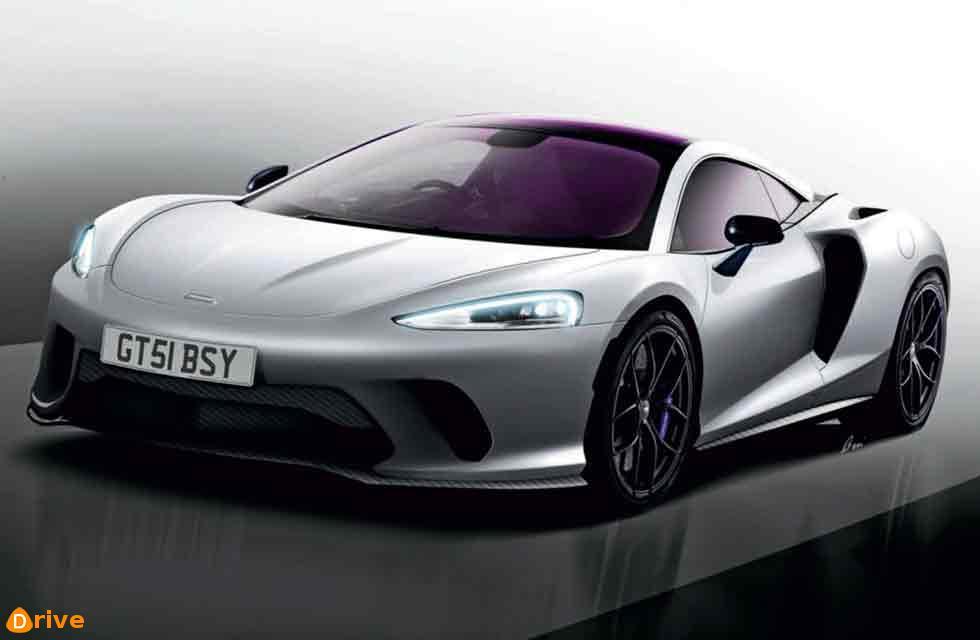 McLaren's new grand tourer
