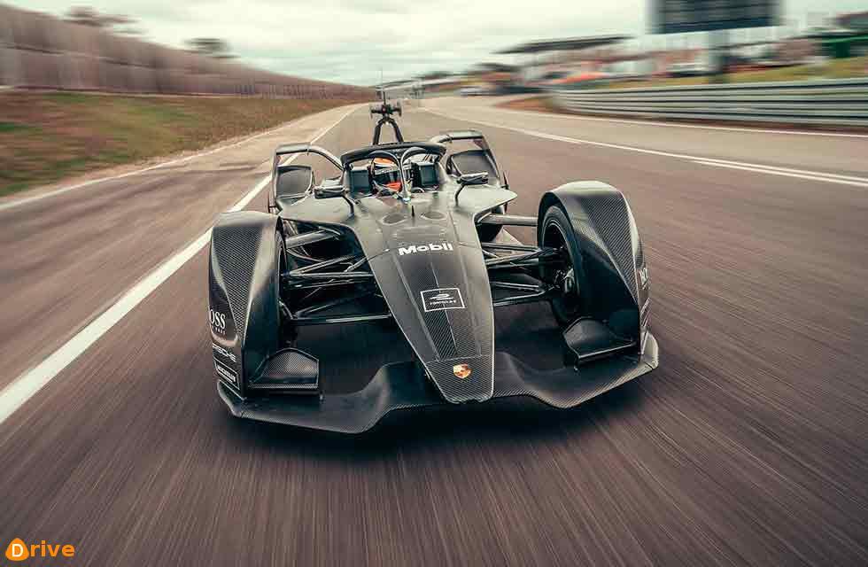 Porsche tests Formula E car
