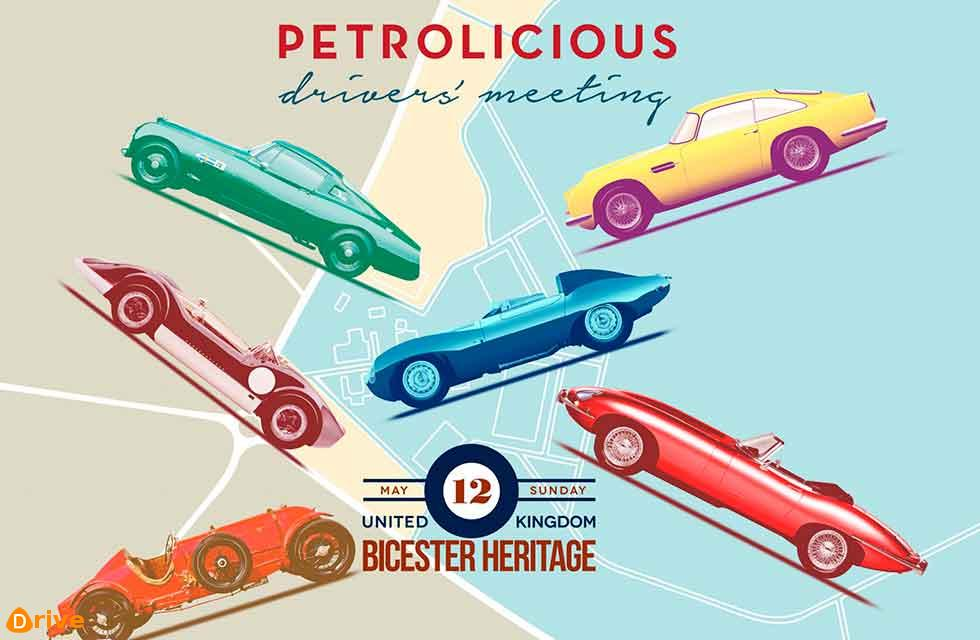 First-Ever Petrolicious Drivers' Meeting At Bicester Heritage