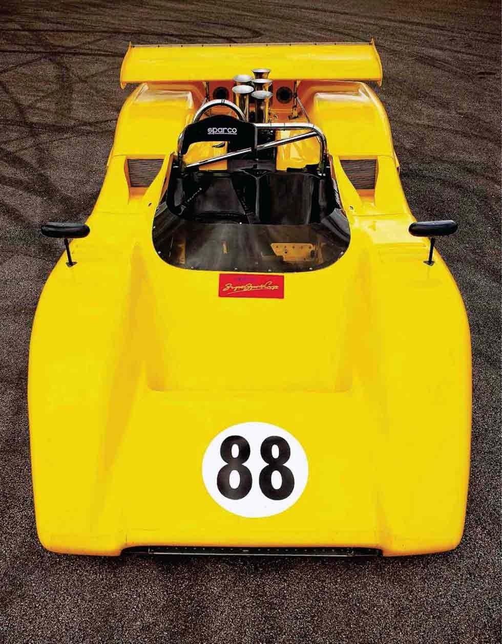 1971 McLaren M8E CanAm Challenge Car