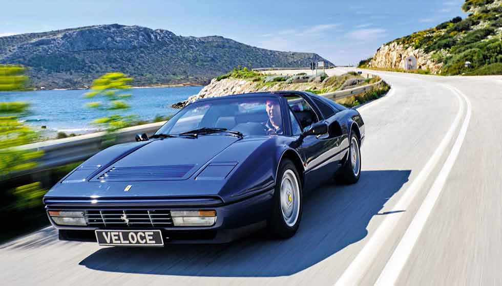 Road test 1988 Ferrari 208 GTS turbo