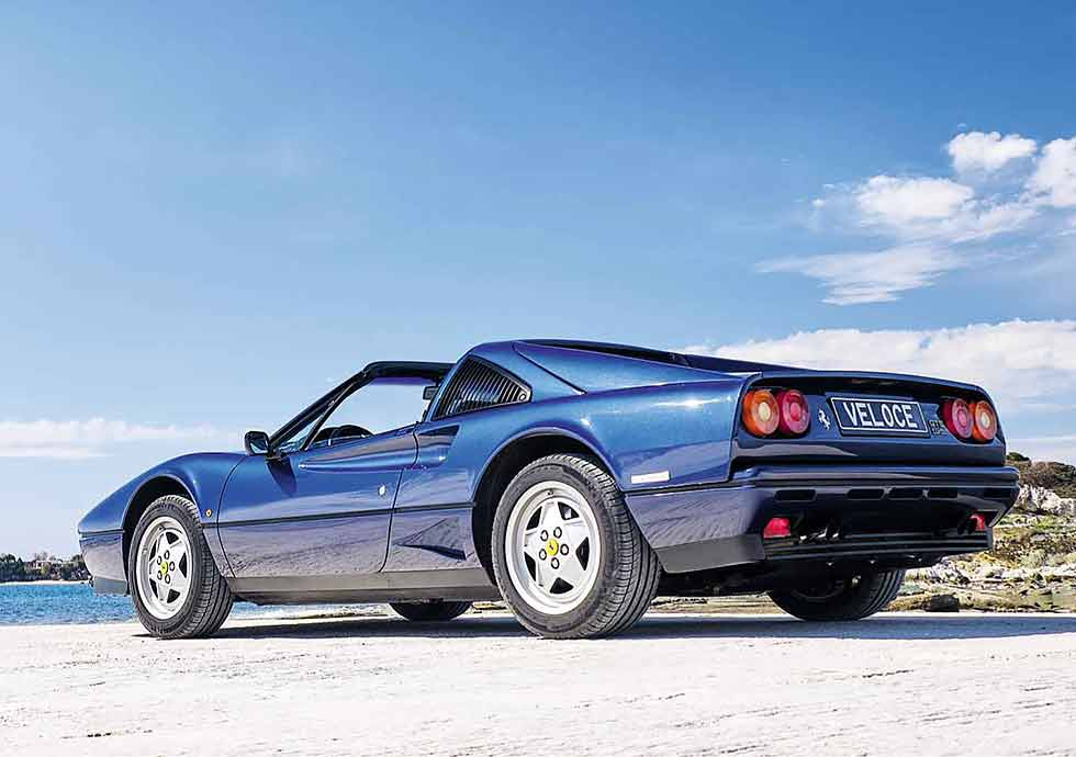 1988 Ferrari 208 GTS Turbo