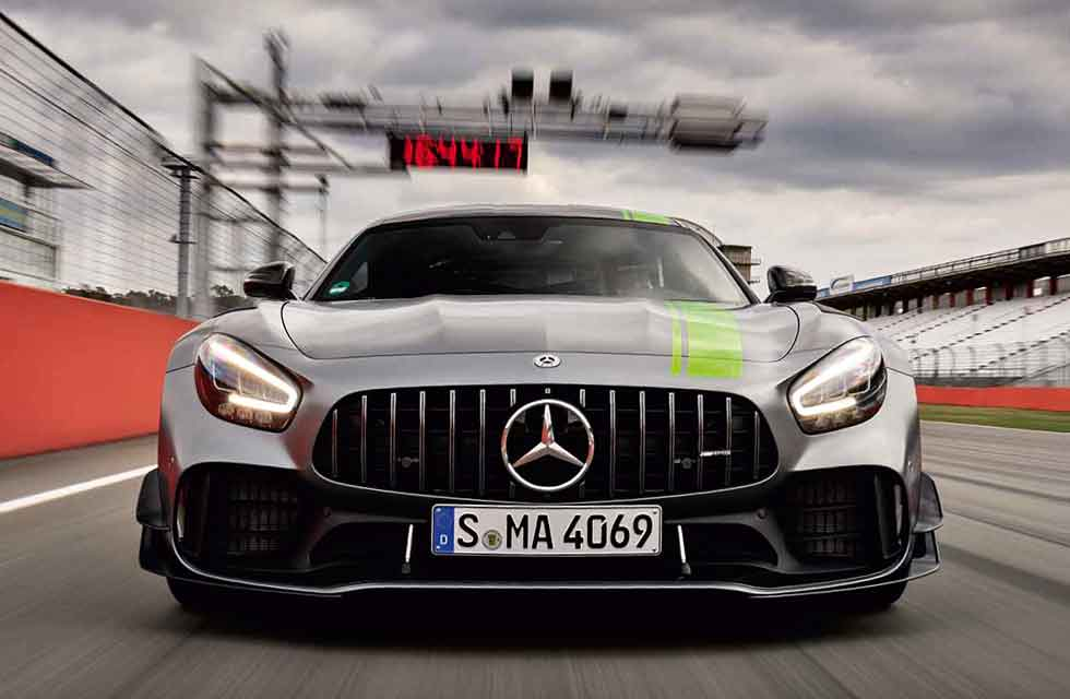 2020 Mercedes-AMG GT R Pro C190 - road test