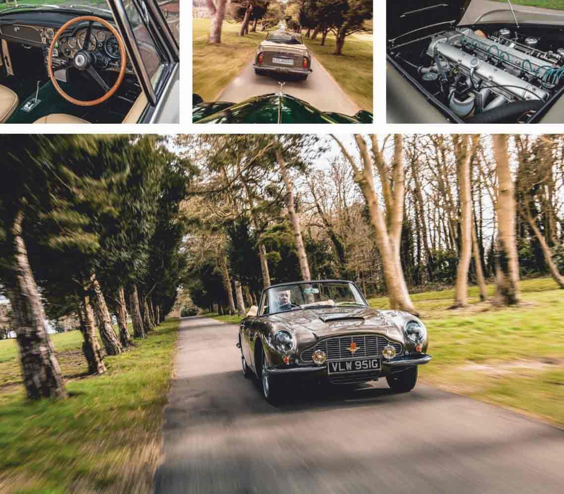 Aston Martin DB6 Volante Automatic