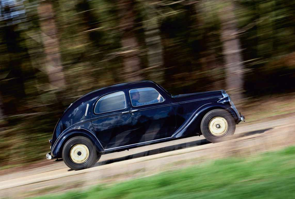 Lancia Aprilia Lusso road test