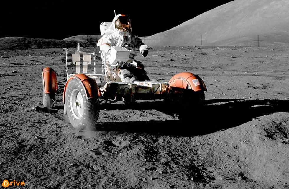1971 NASA Apollo-17 Lunar-Roving-Vehicle