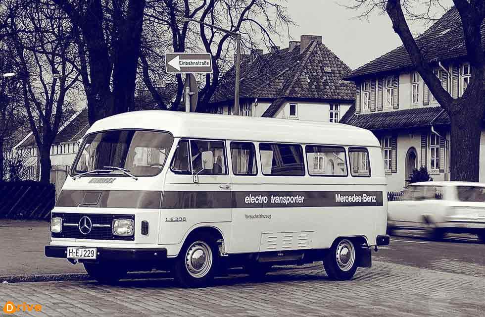 1972 Mercedes-Benz LE 306 Electric Van