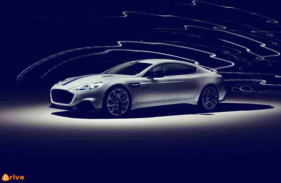 Production ready Aston Martin Rapide E debuts in Shanghai