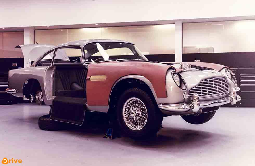 Gadgets galore on Aston Martin's Goldfinger DB5 continuation cars