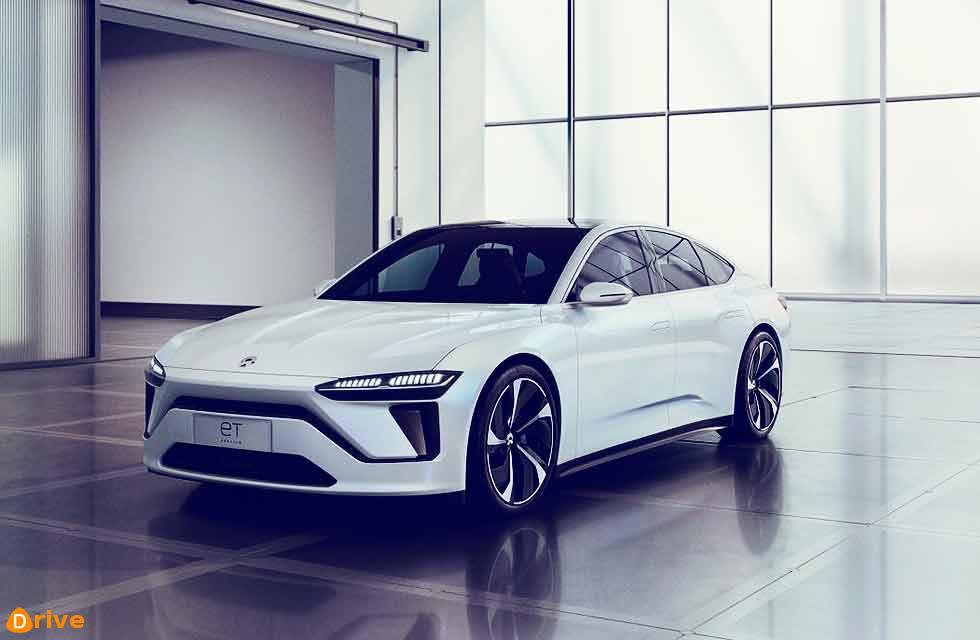 NIO unveils new all-electric sedan and fast-charging station