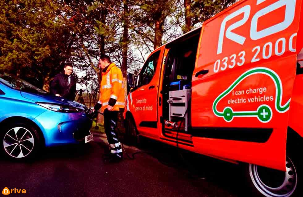 RAC develops UK's first lightweight charger