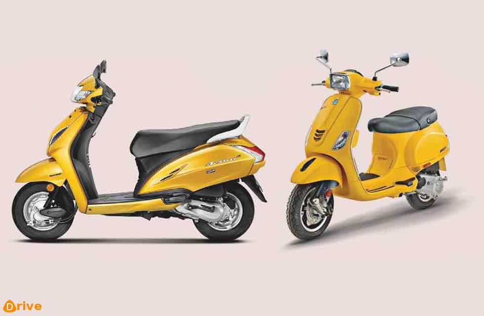 Slump in Scooter sales after 13 years