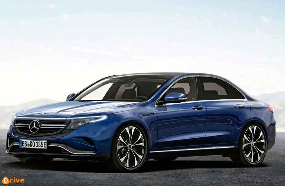 Electric EQE Mercedes-Benz V295 saloon gets go-ahead for 2022
