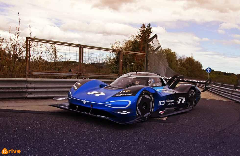 Volkswagen aims for Nürburgring EV record with revised version of ID. R