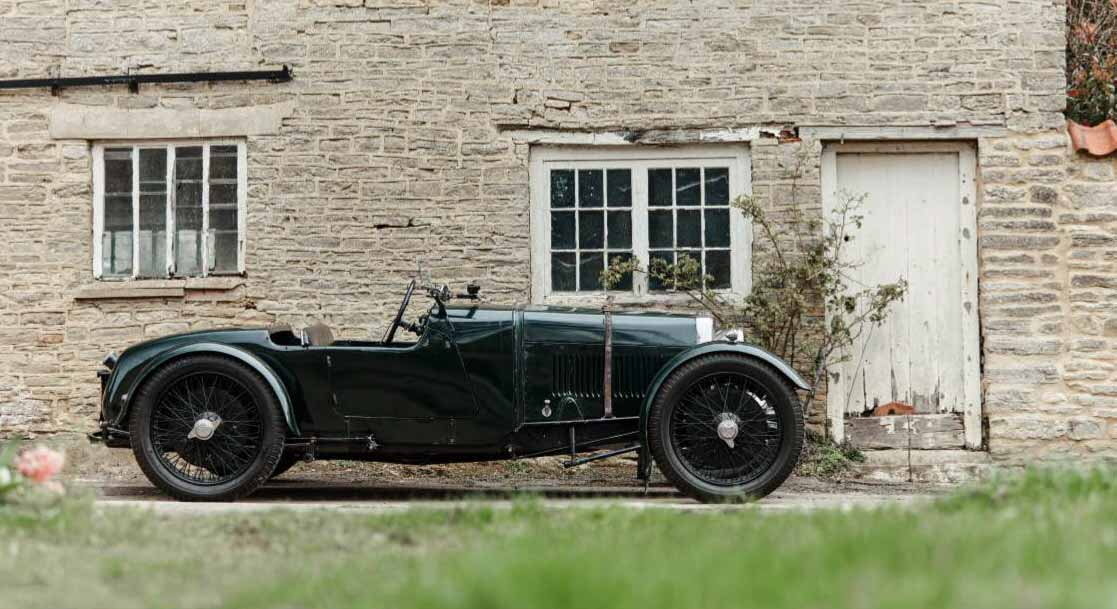 1928 Aston Martin two-seater Sports Model