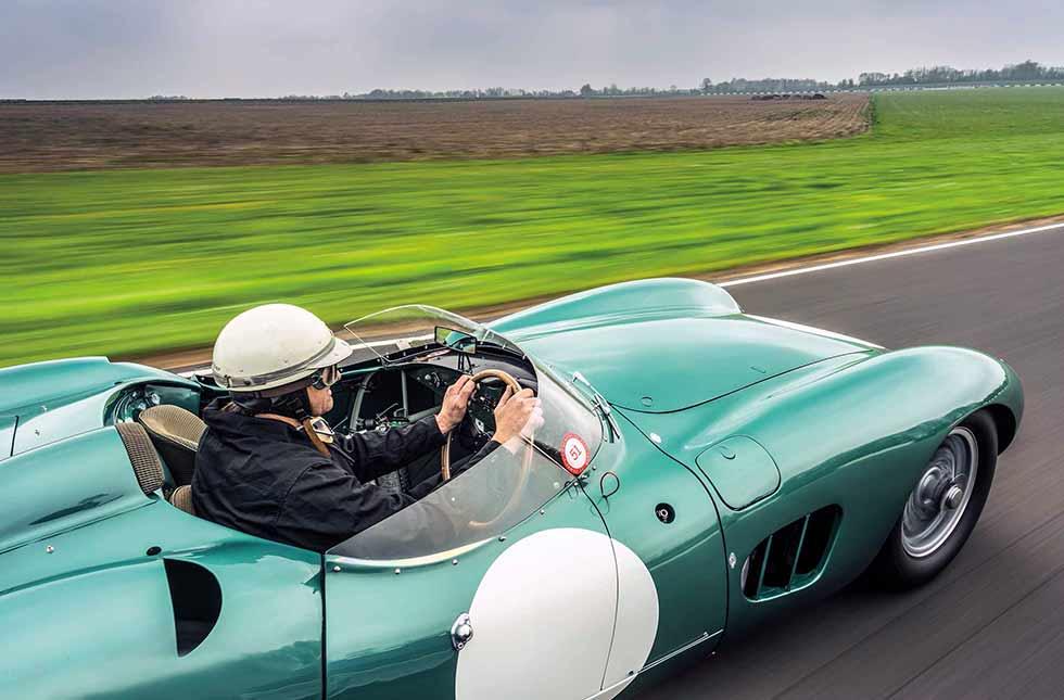 1959 Aston Martin DBR1/4 - track test