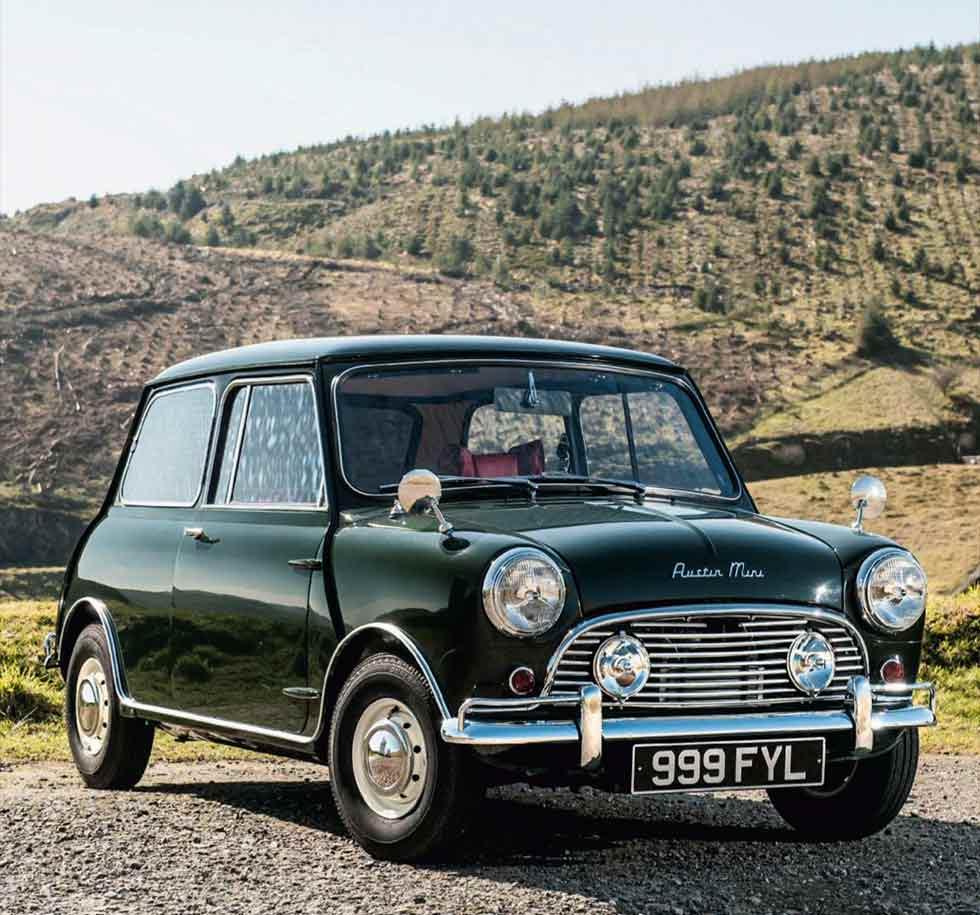 1963 Downton/Hooper Austin Mini Cooper S