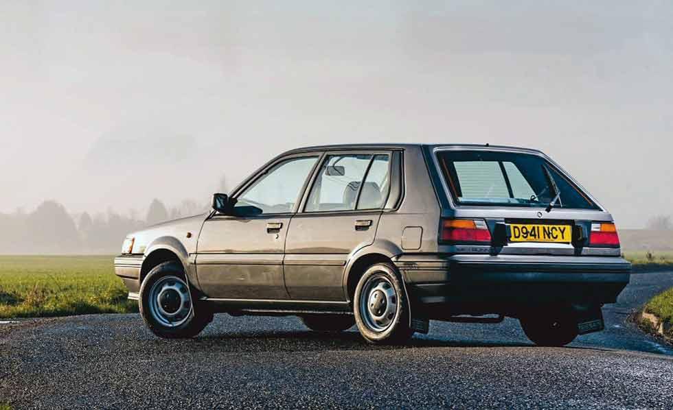 1987 Nissan Sunny LX