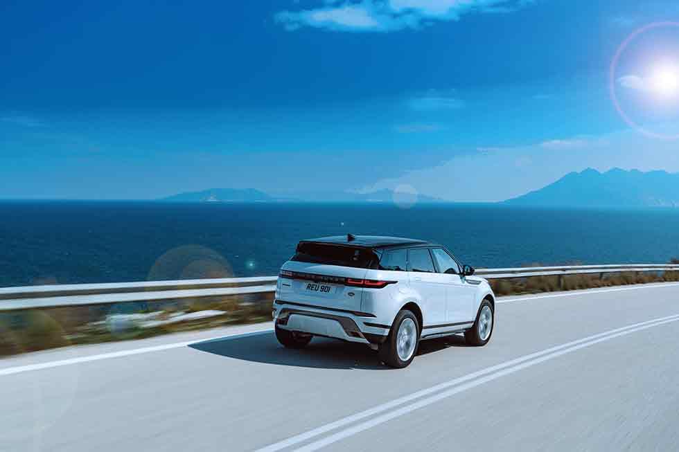 Waitrose warrior 2019 Range Rover Evoque D240 HSE L551