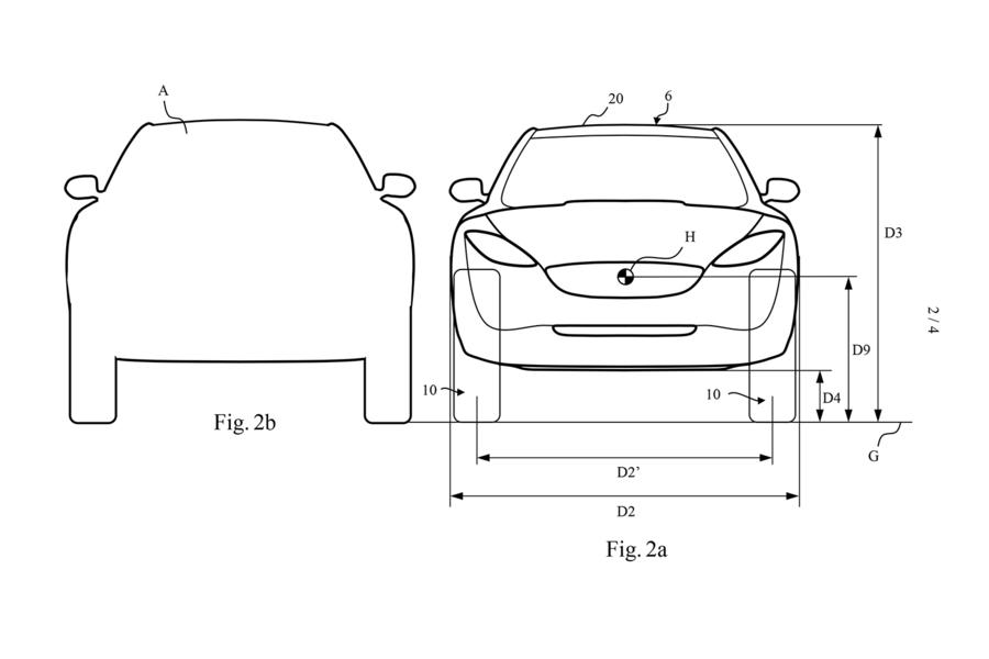 Dyson electric car patents reveal possibilities of large wheels, 3rd-row seating