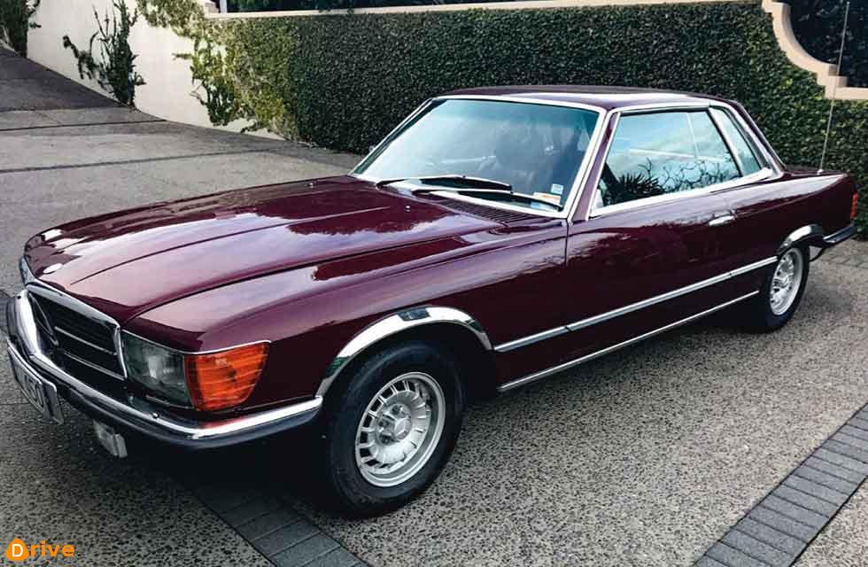 1975 Mercedes-Benz 450 SLC C107 $49,995