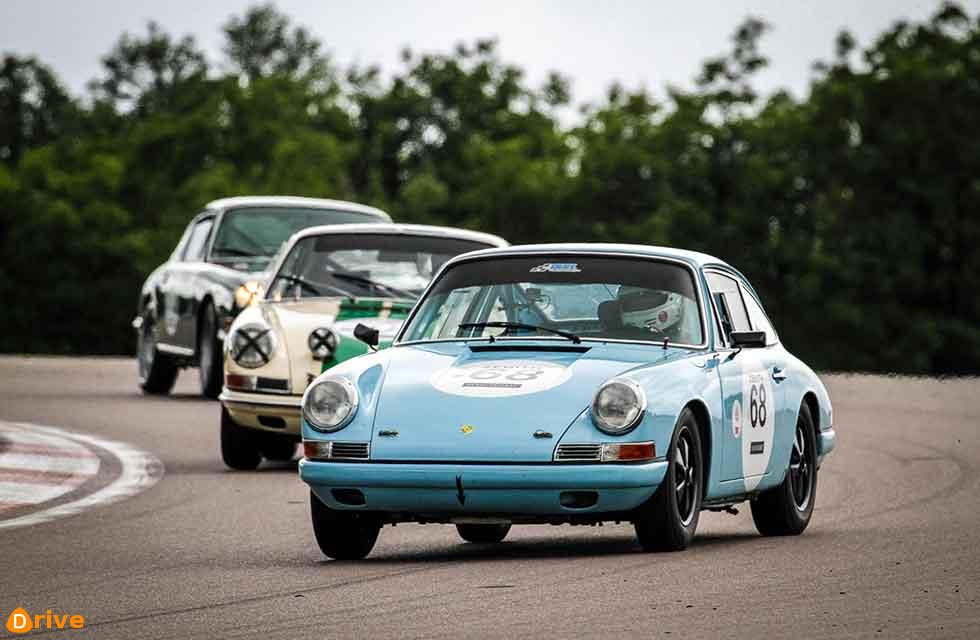 38-strong field of early 911 racers compete in second race of season at Spa Classic