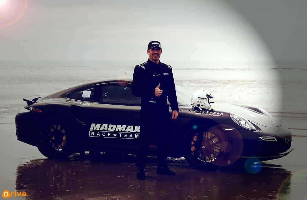 Porsche 911 Turbo 991 helps topple four speed records at Pendine Sands