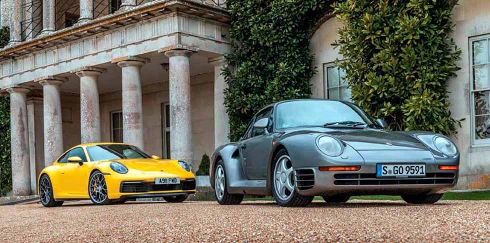 1986 Porsche 959 Sport vs. 2020 Porsche 911 Carrera 4S 992