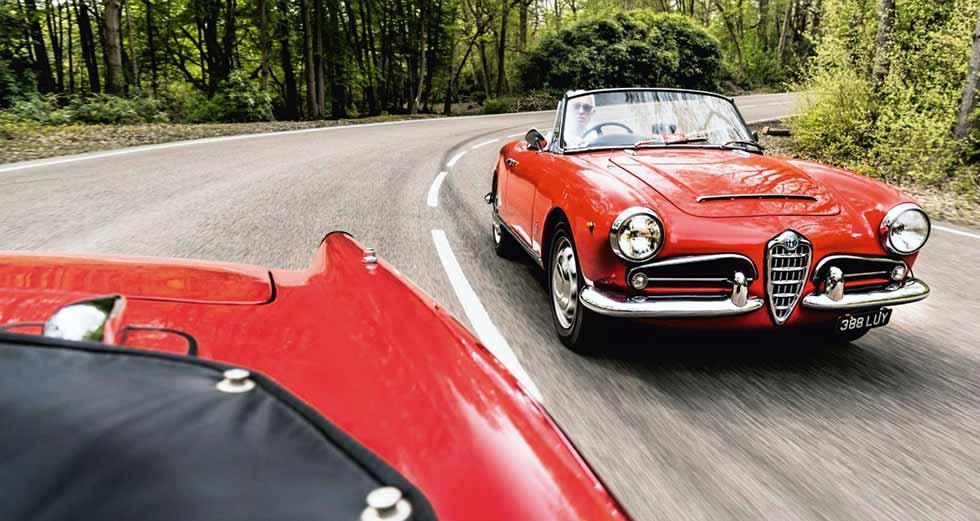 1963 Alfa Romeo Giulia Spider Tipo 101