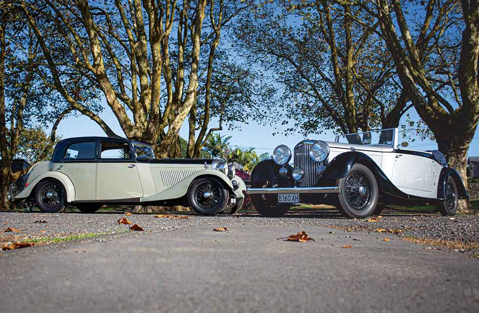 Feature 1934 Bentley Derby Drophead and Sports Saloon