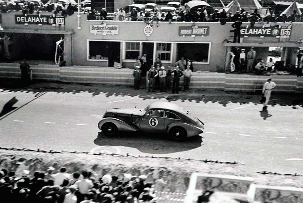 1938 Bentley 4¼ Litre 'Embiricos' Special